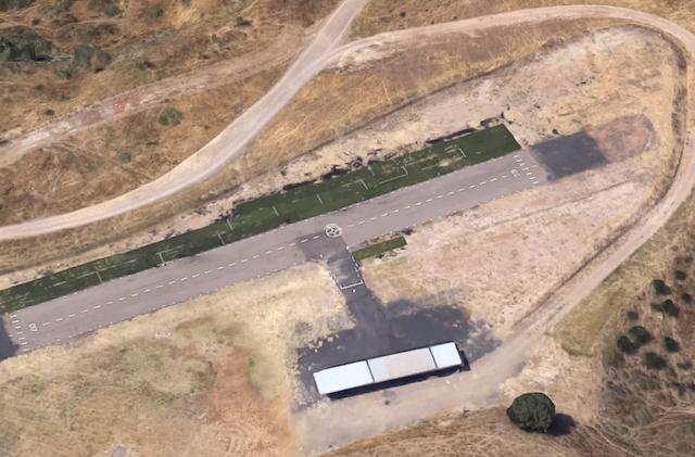 vista satelite pista